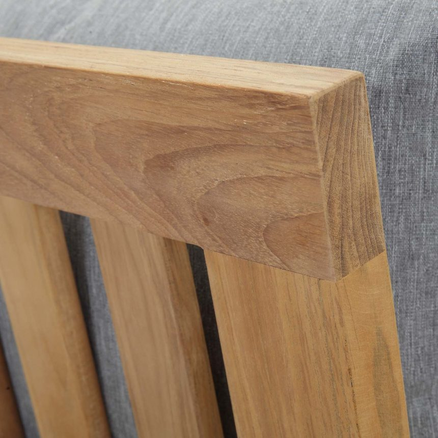 Teak Wood Mortis & Tenon Joinery for strength and durability.