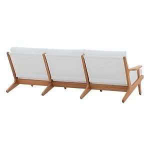 Saratoga Teak Couch Back View