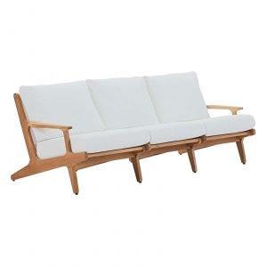 Saratoga Teak Sofa