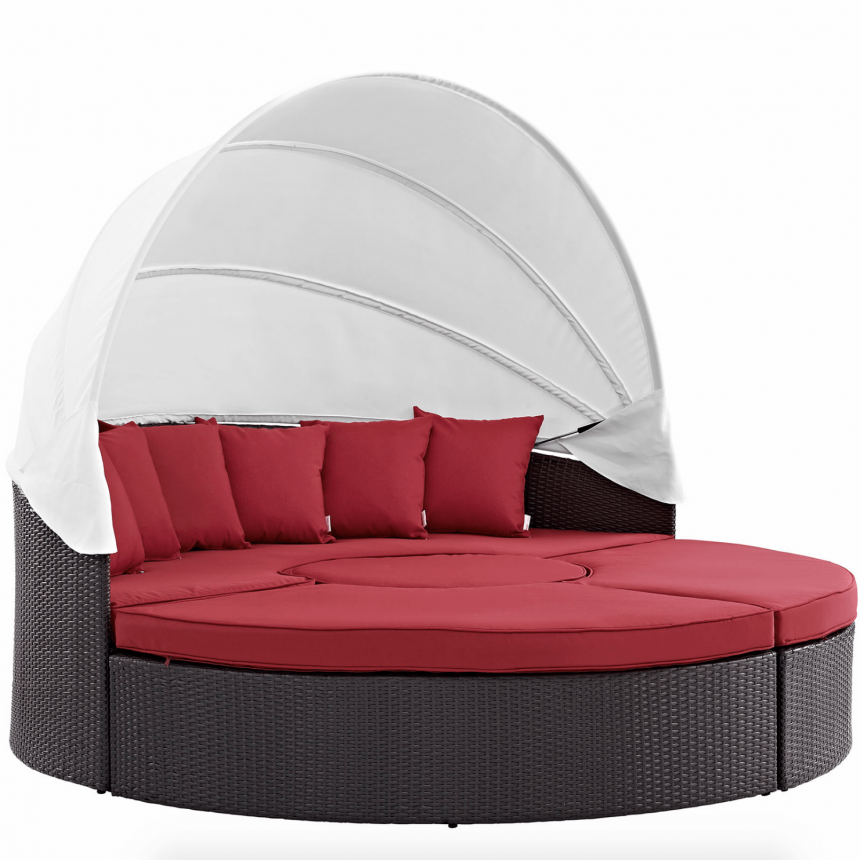 Canopy Daybed in Red
