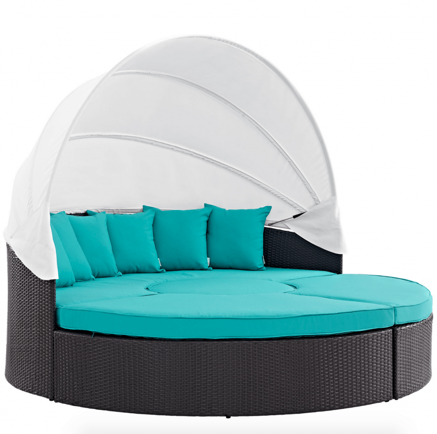 Canopy Daybed in Turquoise