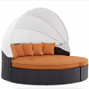 Canopy Daybed Orange