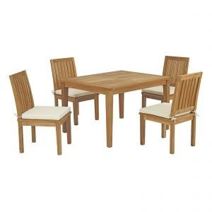 5 Piece Teak Dining Set EEI-3287