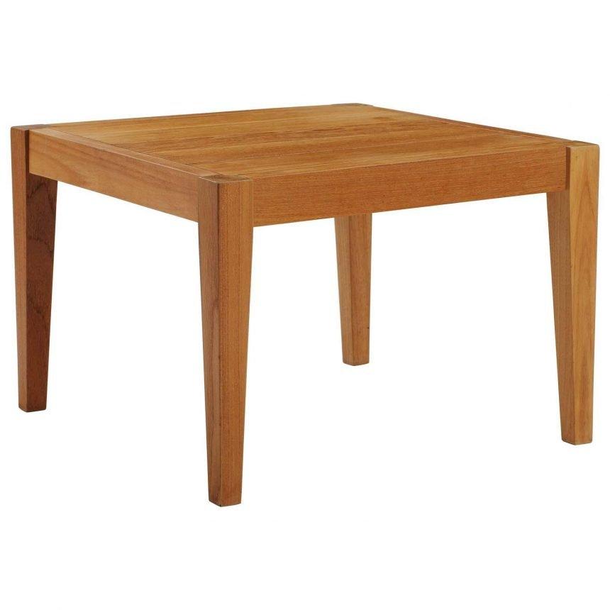 3 Piece Outdoor Patio Premium Grade A Teak Wood Table eei-3626