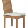 5 piece teak dining set chair