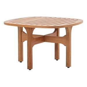 Outdoor Patio Teak Coffee Table in Natural EEI-2929