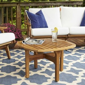 Outdoor Patio Teak Coffee Table EEI-2929