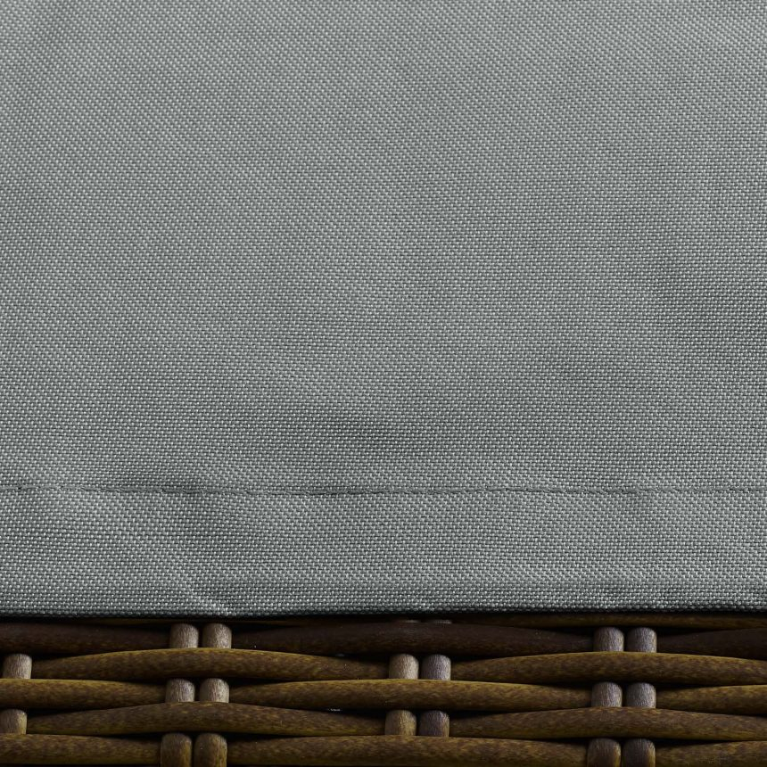 Loveseat and Varied Use Outdoor Patio Furniture Cover in Gray-EEI-3142-GRY-Close Up