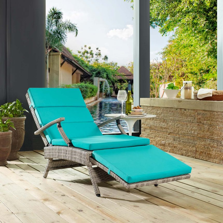 Chaise Outdoor Patio Wicker Rattan Lounge Chair-EEI-2301-LGR-TRQ_Live