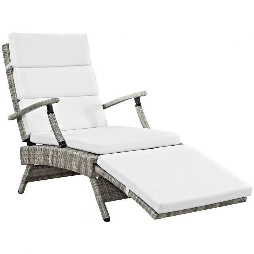 Chaise Outdoor Patio Wicker Rattan Lounge Chair-EEI-2301-LGR-WHI_1