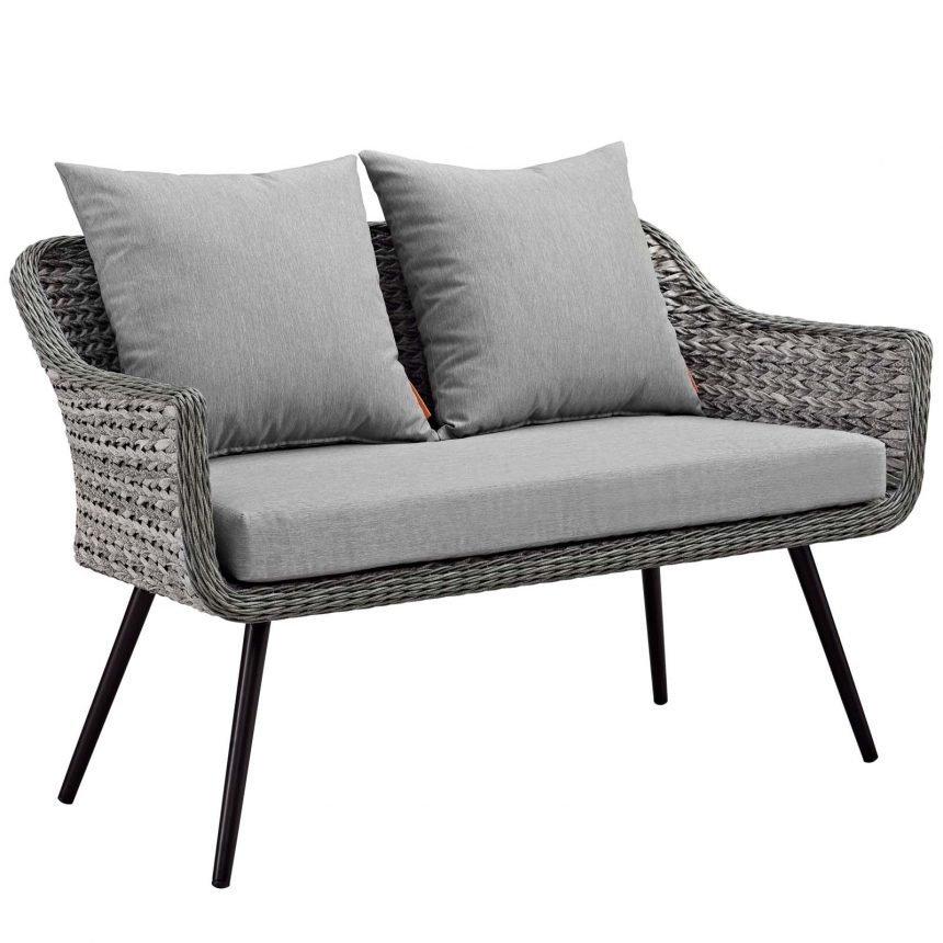 5 Piece Outdoor Patio Wicker Rattan Loveseat Armchair Coffee + Side Table Set-EEI-3178-GRY-GRY-SET_sofa