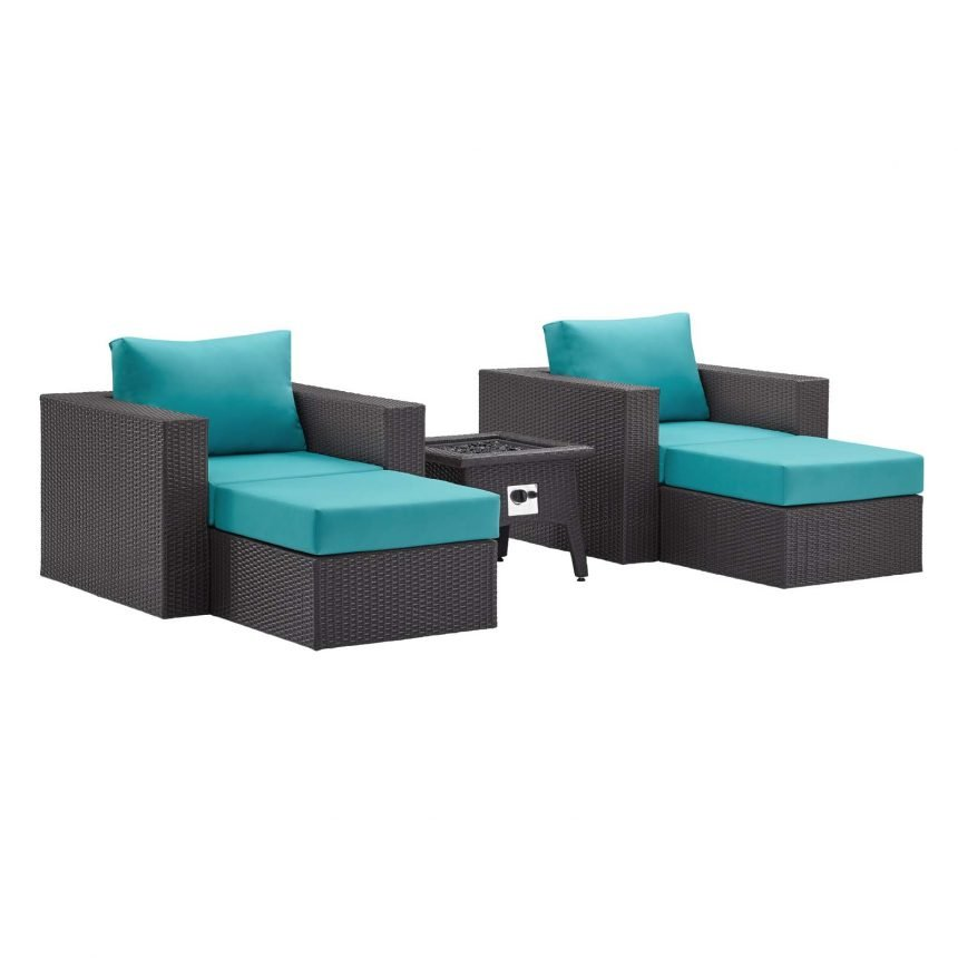 5 Piece Set Outdoor Patio with Fire Pit -EEI-3726-EXP-TRQ-SET_1_