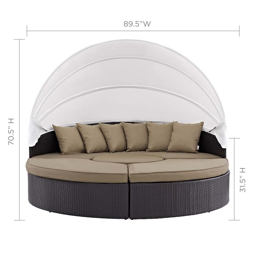Canopy Outdoor Patio Daybed-EEI-983-EXP-MOC-SET_front w.dim
