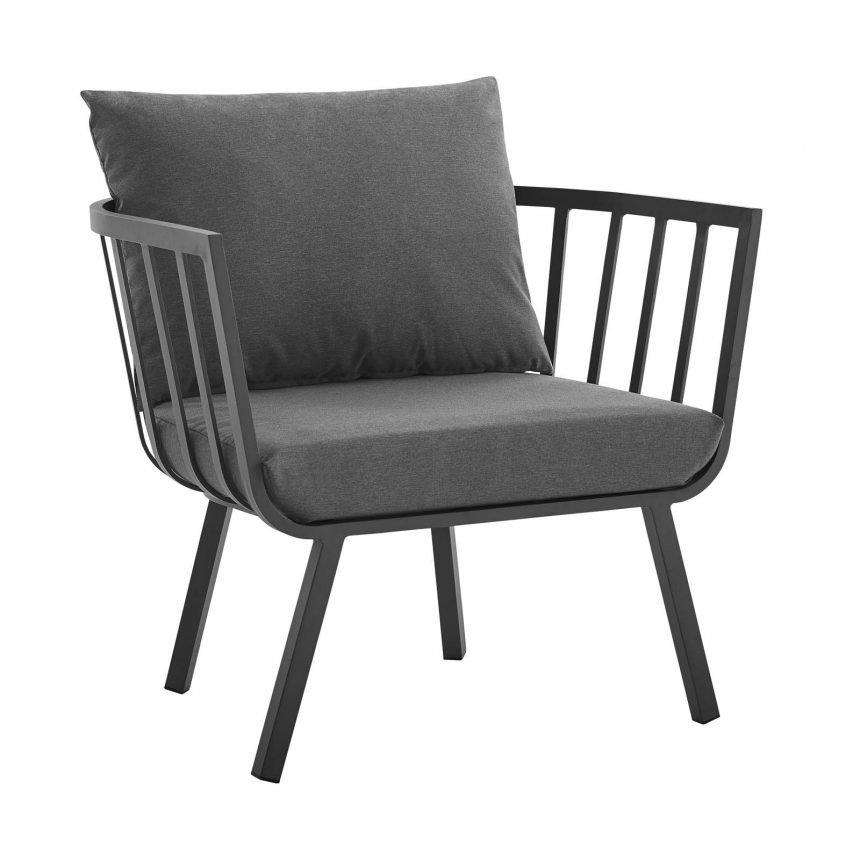5 Piece Outdoor Patio Aluminum Set-EEI-3786-SLA-CHA_chair
