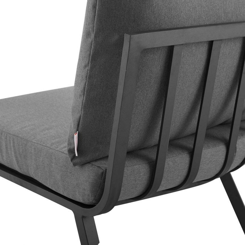 5 Piece Outdoor Patio Aluminum Set-EEI-3786-SLA-CHA_chair back close