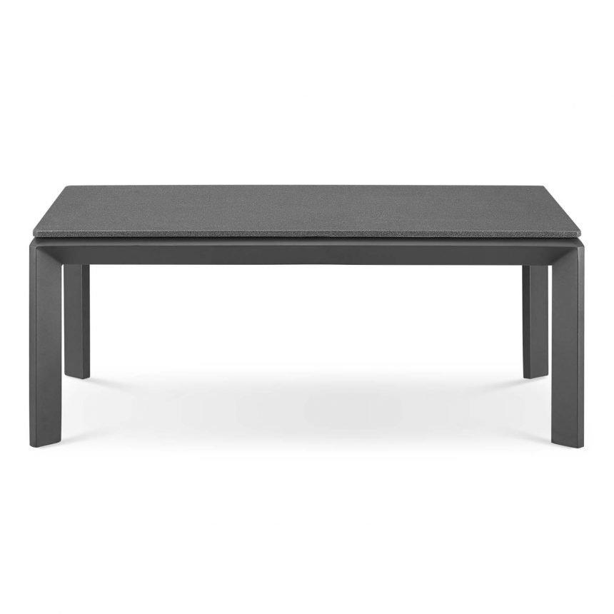 5 Piece Outdoor Patio Aluminum Set-EEI-3786-SLA-CHA_table