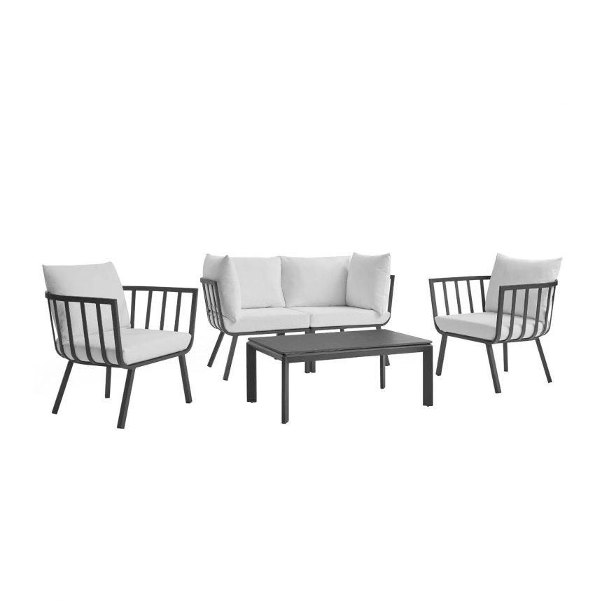 5 Piece Outdoor Patio Aluminum Set-EEI-3786-SLA-WHI_1_