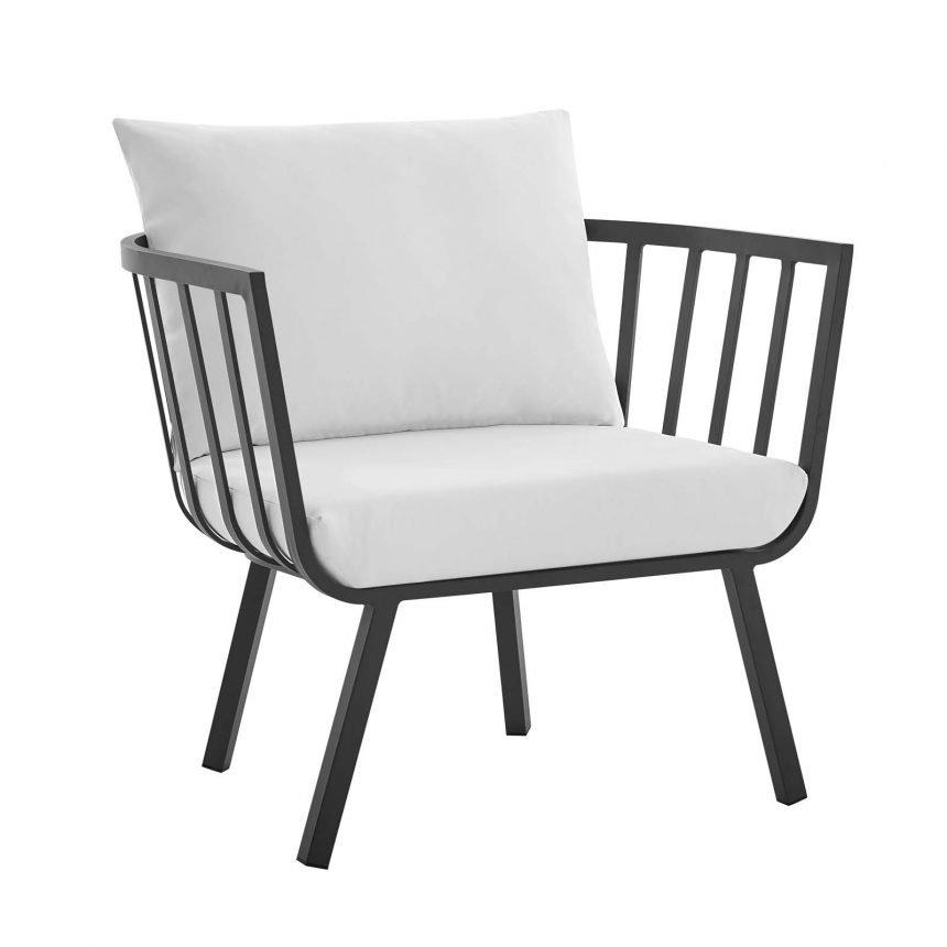 5 Piece Outdoor Patio Aluminum Set-EEI-3786-SLA-WHI_chair fs