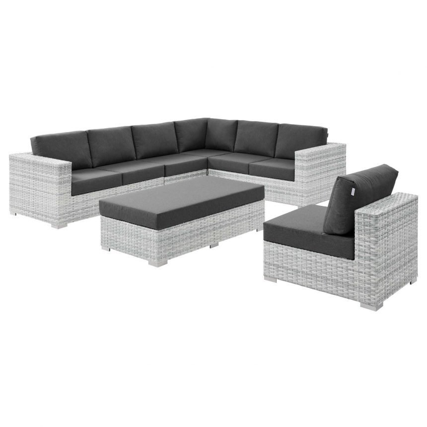 6-Piece Outdoor Patio Sectional Set-EEI-5450-LGR-CHR-SIDE